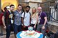 Wikimedia Hackathon Jerusalem Cake IMG 8763.JPG