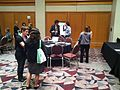 Wikipedians at the Marketplace of Ideas at AAM2012 (2).jpg