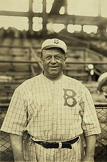 Wilbert Robinson American baseball player, coach, and manager