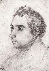 Clemens Brentano 1819 (Zeichnung von Wilhelm Hensel) (Quelle: Wikimedia)