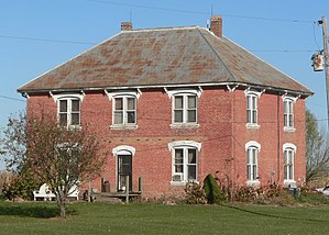 National Register of Historic Places listings in Clay County, South Dakota - Image: William Andre house (Clay County SD) from SW 2