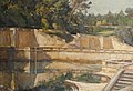 William Bruce Ellis Ranken The Roman Gardens at Nîmes.jpg
