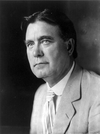 1924 United States presidential election - Senator William Edgar Borah from Idaho