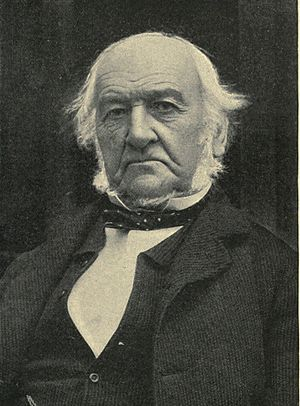 Liberal government, 1892–1895 - Image: William Ewert Gladstone in later life