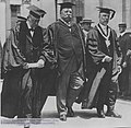 William Howard Taft with Timothy Dwight and Arthur Twining Hadley.jpg