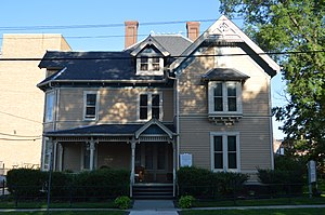 National Register of Historic Places listings in McDonough County, Illinois - Image: William S. Bailey House