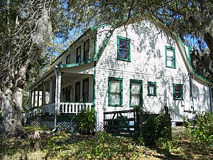 National Register of Historic Places listings in Hernando County, Florida - Image: Willis Russell House Brooksville 01