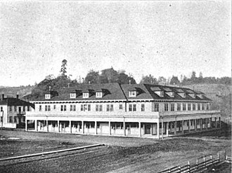Willits, California - Willits Hotel, 1903