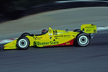 Willy T. Ribbs - 1991 CART Race - Laguna Seca ...