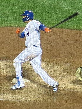 Wilmer Flores on June 26, 2018 (cropped).jpg