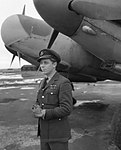 Wing Commander F.D. Hughes and Mosquito NF.XIIICH14226.jpg