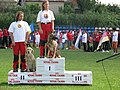 Winners at Water test WCH of Rescue Dogs Romania 2009.jpg