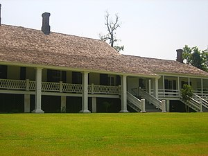 Winter Quarters State Historic Site - Front of Winter Quarters