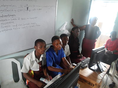 Wipedia Adopt a School Series in Nigeria.JPG