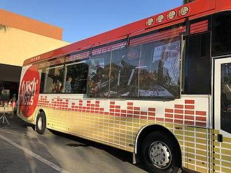 DWNU - Wish Bus outside of CSI Lucao Mall Dagupan City, Pangasinan