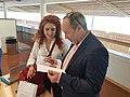 With Jimmy Wales, Wikimania 2019.jpg