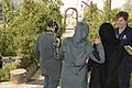 Women from 203rd Zone Afghan Border Police and TAAC-S attend shura at Kandahar Airfield, Afghanistan 150809-N-SQ656-183.jpg