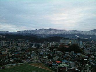 Wonju - Image: Wonju.Gangwon.KOREA