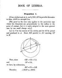 Book of Lemmas cover