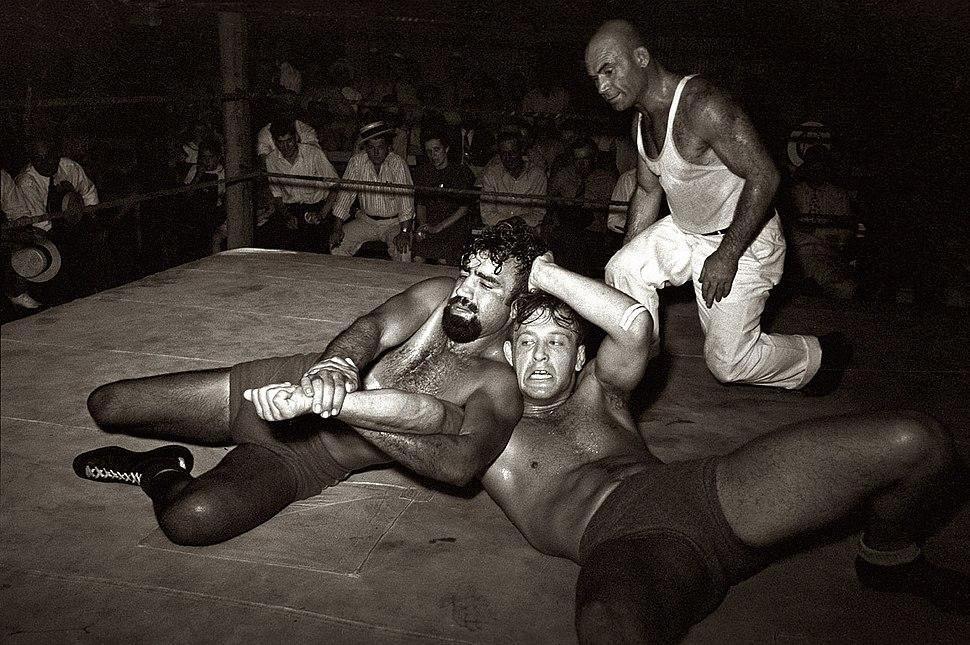 Wrestling - Sikeston, MO 1938 - 1