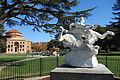 Wrestling Bacchantes by Aristide Petrilli - Sunken Gardens - Atascadero, CA - DSC05359.JPG