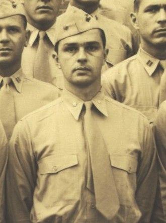 Walter Stauffer McIlhenny - Major Walter Stauffer McIlhenny, USMCR, at Quantico, Virginia, ca. 1945.