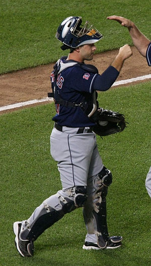 Wyatt Toregas - Toregas during his tenure with the Cleveland Indians in 2009