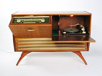 Radiogram (device) - Granada Radiogram, c 1960s