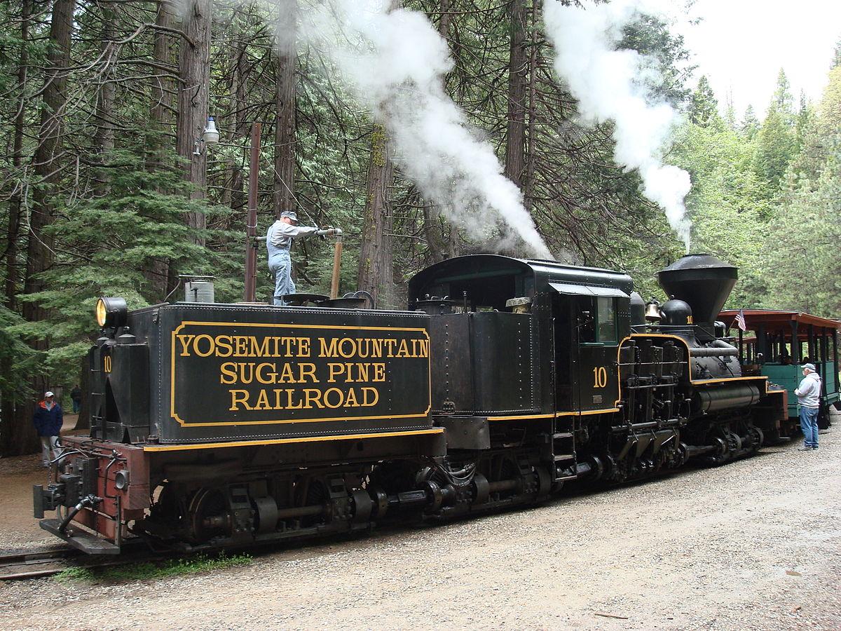 Yosemite Mountain Sugar Pine Railroad — Википедия