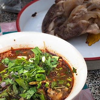 Cow's trotters - Thai Yam tin khwai.