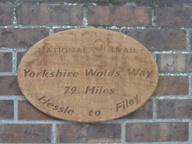 Yorkshire Wolds Way Sign