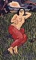Yorozu Frau auf der Wiese.jpg