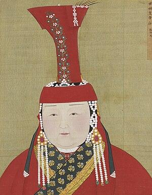 Chabi - Image: Yuan Empress Album Chabi