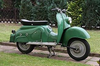 Zündapp Bella R 154 (2008-05-21) Seitenansicht ret.jpg