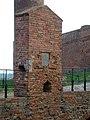 Zamek w Czersku, monogram Bielińskiego, XVIII w.jpg