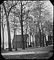 Zandhoek, Gezien in zuidelijke richting naar het zandhuisje en het huis naast de brug over de Realengracht (max res).jpg