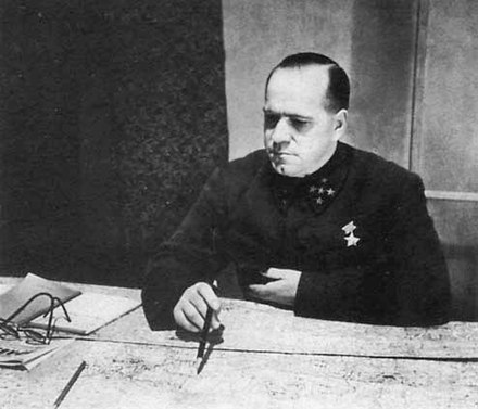 Marshal of the Soviet Union Georgi Konstantinovich Zhukov, 1941. Zhukov in October 1941.jpg
