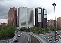 Zona financiera de la M-30 (Madrid) 02.jpg