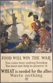 """Food will win the war. You came here seeking Freedom. You must now help to preserve it. WHEAT is needed for the allies - NARA - 512499.tif"