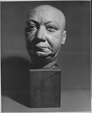 Louis T. Wright - Louis T. Wright (sculpture by William E. Artis)