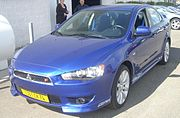 2009 Mitsubishi Lancer Ralliart (North America)