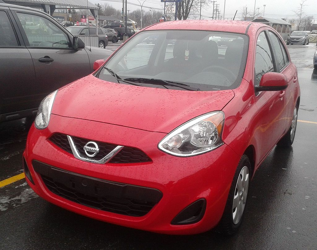 '15 Nissan Micra -- Front