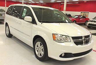Chrysler minivans (RT) - 2016 Dodge Grand Caravan