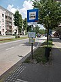 'Posta' bus stop, 2018 Oroszlány.jpg