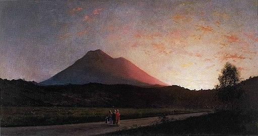 'San Rafael' by Jules Tavernier, 1880