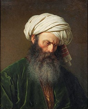 Amalia Lindegren - Image: 'Study of a Man in Turkish Dress' by Amalia Lindegren, 1854