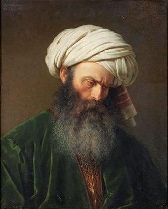 Amalia Lindegren - Image: 'Study of a Man in Turkish Dress' by Amalia Lindegren, 1854