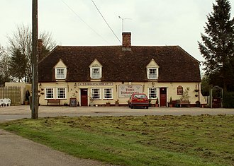 Bannister Green - Image: 'The Three Horseshoes' public house, Bannister Green, Essex geograph.org.uk 159642