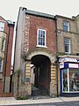 (Part of the) house where Wilfrid Wilson Gibson, Georgian Poet, was born - geograph.org.uk - 671768.jpg