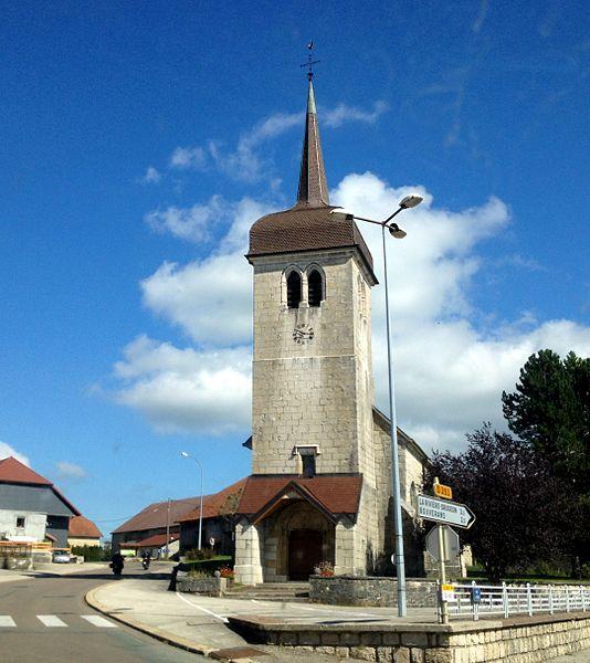 Église Saint-Pierre et Saint-Paul de Dompierre-les-Tilleuls.